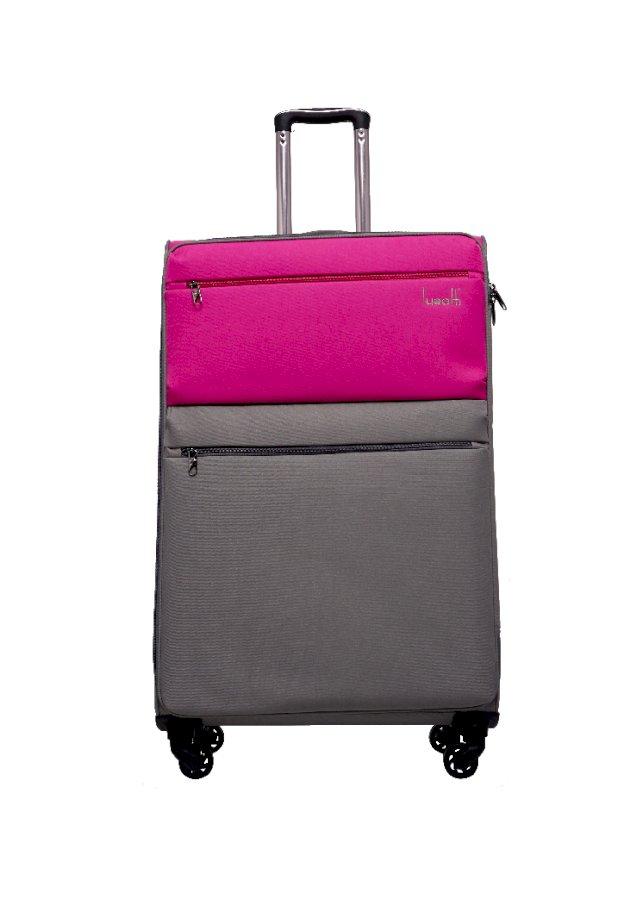 Vali kéo vải chống thấm Lusetti LS1810 Size 24 (Hồng)
