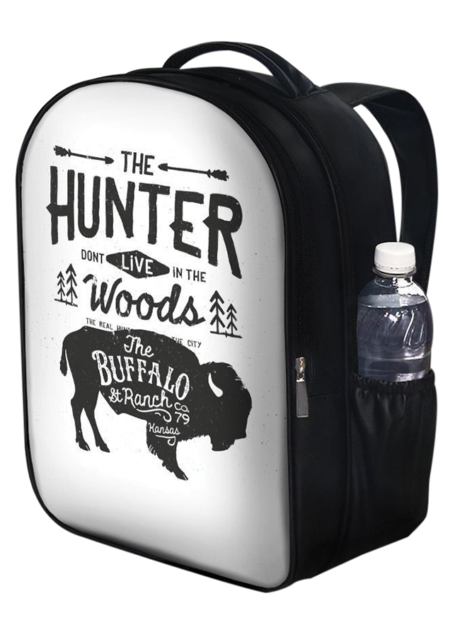 Balo Unisex In Hình The Hunter Don