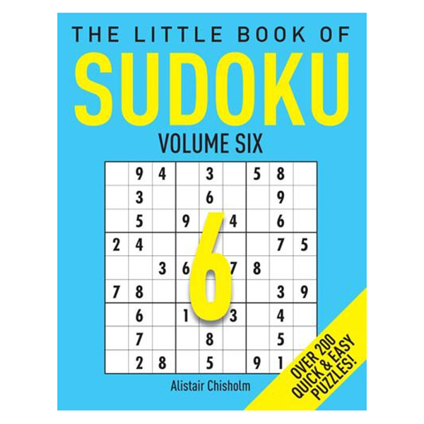 The Little Book Of Sudoku 6
