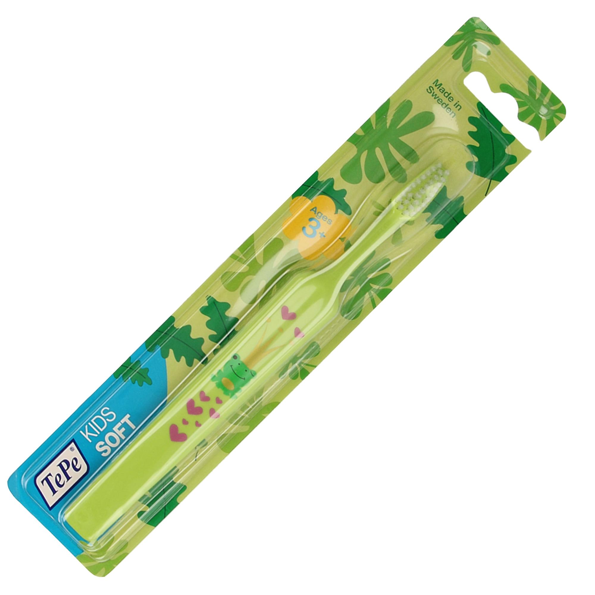 Bàn chải đánh răng siêu mềm cho trẻ từ 3+ Tepe Kid Extra Soft nhiều màu - 962761 , 6503075883294 , 62_2254537 , 66000 , Ban-chai-danh-rang-sieu-mem-cho-tre-tu-3-Tepe-Kid-Extra-Soft-nhieu-mau-62_2254537 , tiki.vn , Bàn chải đánh răng siêu mềm cho trẻ từ 3+ Tepe Kid Extra Soft nhiều màu