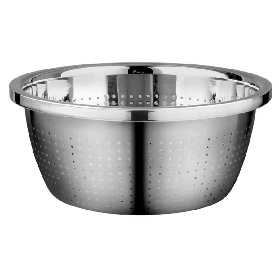 GOLDEN KEY 304 stainless steel 22cm platinum gold rice sieve sink GK-T22B5