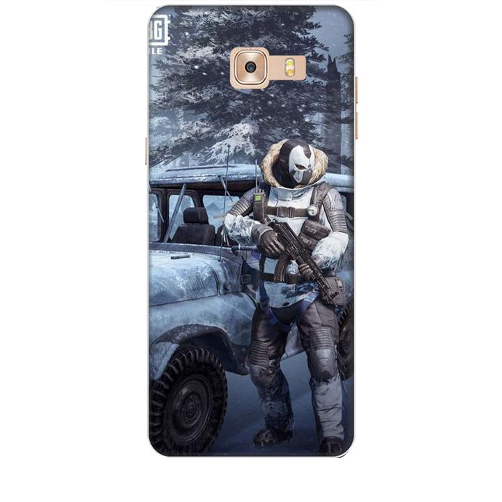 Ốp lưng dành cho điện thoại  SAMSUNG GALAXY C9 PRO hình PUBG Mẫu 15