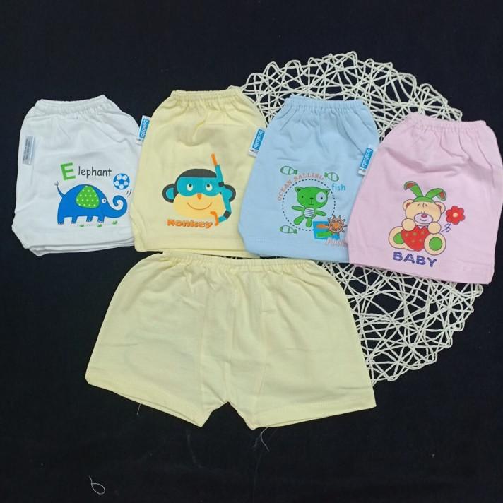 quần màu đóng bỉm cho bé