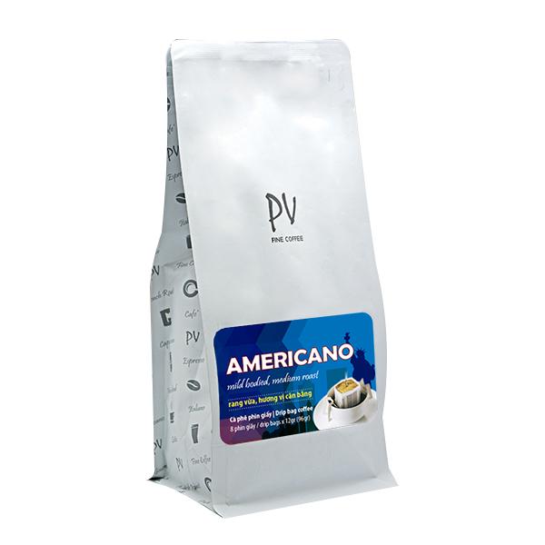 Cà phê PV Fine Coffee Americano 250g (Hạt) - Phương Vy