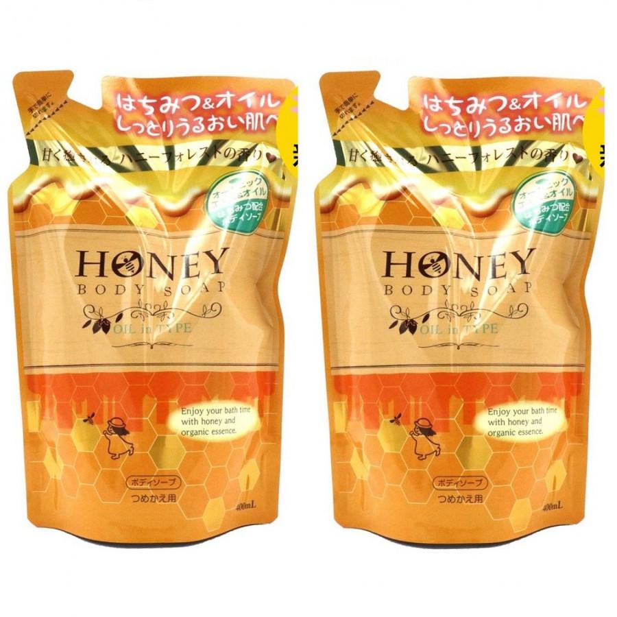 Bộ 2 sữa tắm trắng da tinh chất mật ong và sữa tươi Nhật bản HONEY BODY SOAP MILK IN TYPE ( 400ML) DẠNG TÚI - 1372760 , 8196087483538 , 62_8821593 , 700000 , Bo-2-sua-tam-trang-da-tinh-chat-mat-ong-va-sua-tuoi-Nhat-ban-HONEY-BODY-SOAP-MILK-IN-TYPE-400ML-DANG-TUI-62_8821593 , tiki.vn , Bộ 2 sữa tắm trắng da tinh chất mật ong và sữa tươi Nhật bản HONEY BODY SO
