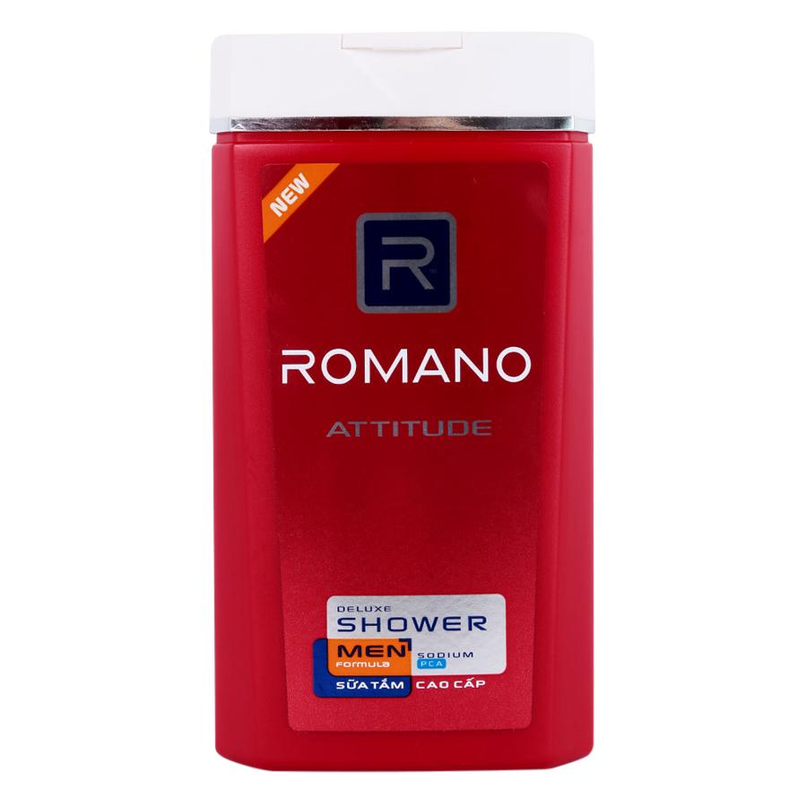 Sữa Tắm Cao Cấp Romano Attitude Chai (180g)