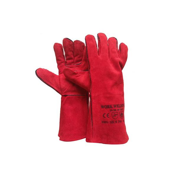 Găng Tay Da Hàn Work Welding WW014 (36cm) - Đỏ