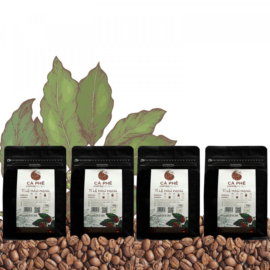 4 gói Cà phê Hạt nguyên chất 100% Tỉ lệ Hảo Hạng - 30% Robusta + 70% Arabica - Light coffee - gói 250g - 1254619 , 8231907606251 , 62_7089223 , 823000 , 4-goi-Ca-phe-Hat-nguyen-chat-100Phan-Tram-Ti-le-Hao-Hang-30Phan-Tram-Robusta-70Phan-Tram-Arabica-Light-coffee-goi-250g-62_7089223 , tiki.vn , 4 gói Cà phê Hạt nguyên chất 100% Tỉ lệ Hảo Hạng - 30% Robus