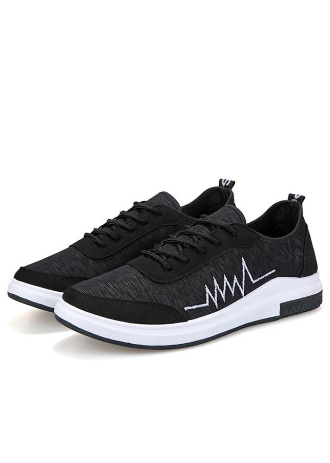 Giày Sneaker Nam Pettino GV03D Màu Đen - 1032365 , 9178514832156 , 62_6150679 , 185000 , Giay-Sneaker-Nam-Pettino-GV03D-Mau-Den-62_6150679 , tiki.vn , Giày Sneaker Nam Pettino GV03D Màu Đen