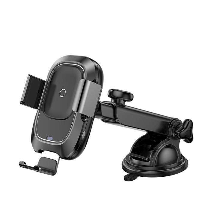 Giá đỡ điện thoại kiêm sạc không dây Baseus cao cấp WXZN-B01 - Hàng nhập khẩu