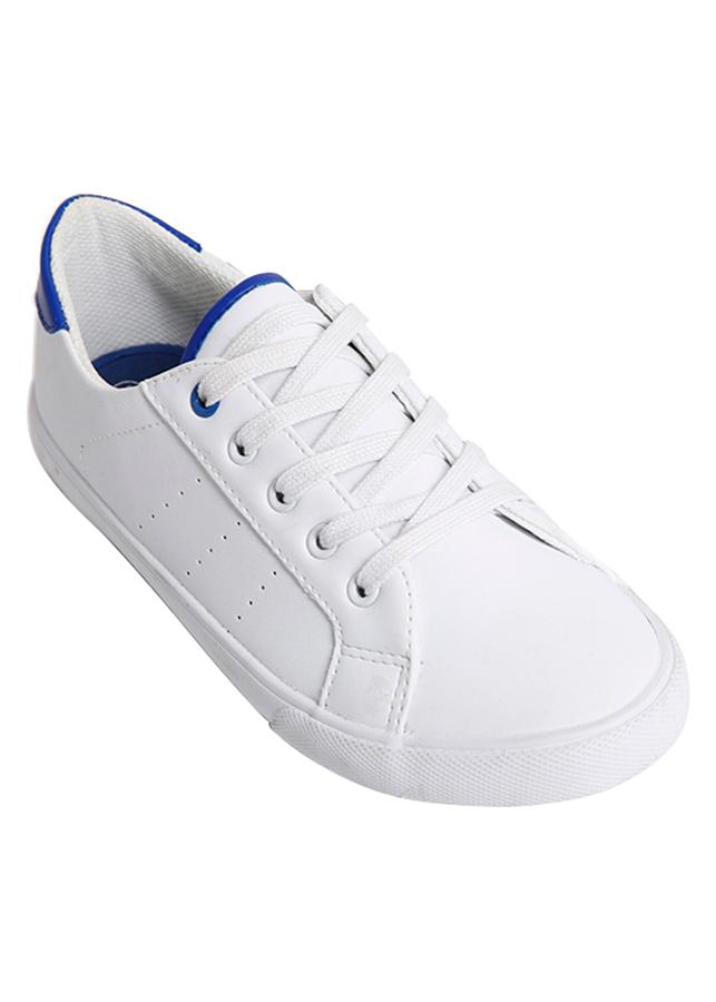 Giày Sneaker Nữ Buộc Dây Urban UL1701 - Trắng Xanh Dương