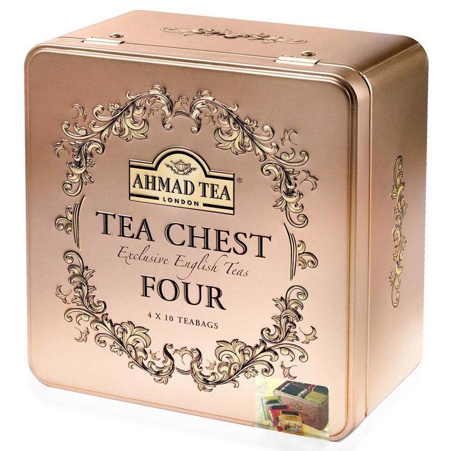 Trà AHMAD - Tea Chest Four (Trà Vàng Tứ Vị) Hộp 40 gói x 2g - 1579546 , 2327930982830 , 62_10394604 , 270000 , Tra-AHMAD-Tea-Chest-Four-Tra-Vang-Tu-Vi-Hop-40-goi-x-2g-62_10394604 , tiki.vn , Trà AHMAD - Tea Chest Four (Trà Vàng Tứ Vị) Hộp 40 gói x 2g