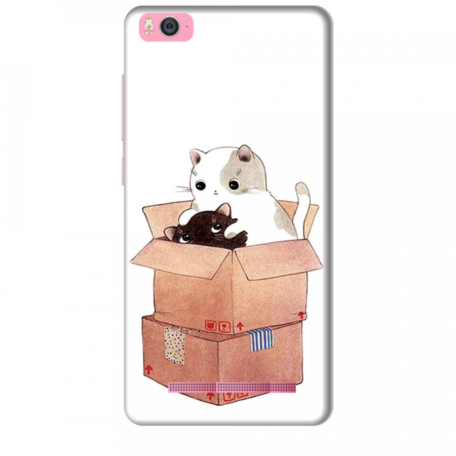 Ốp lưng dành cho điện thoại XIAOMI MI 4C Mèo Con Dễ Thương
