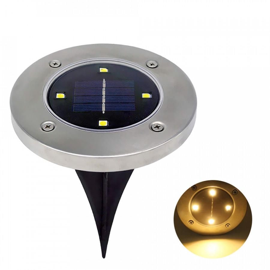 đèn âm sàn năng lượng mật trời