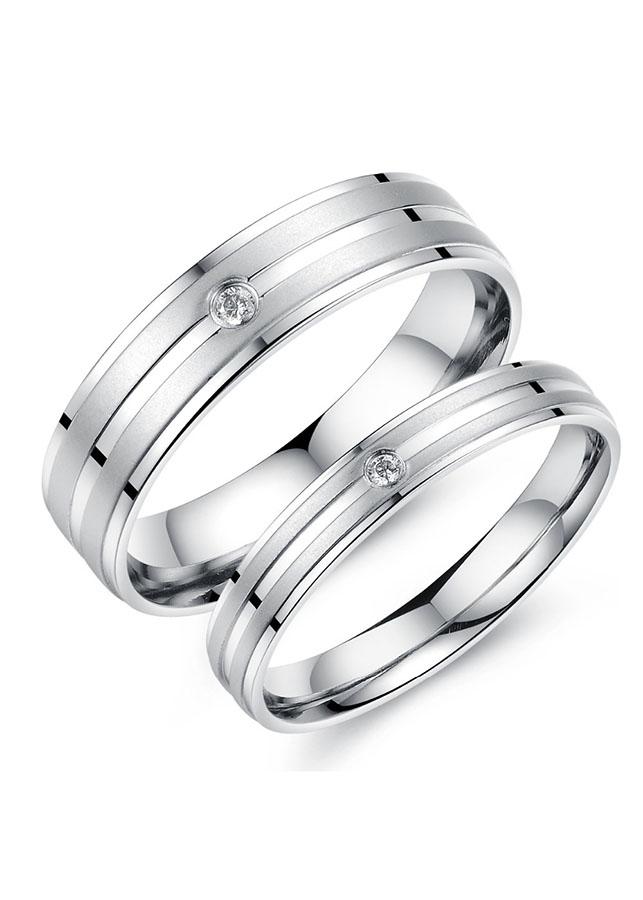 Nhẫn đôi BẠC HIỂU MINH nc526 con đường tình yêu_cỡ đại