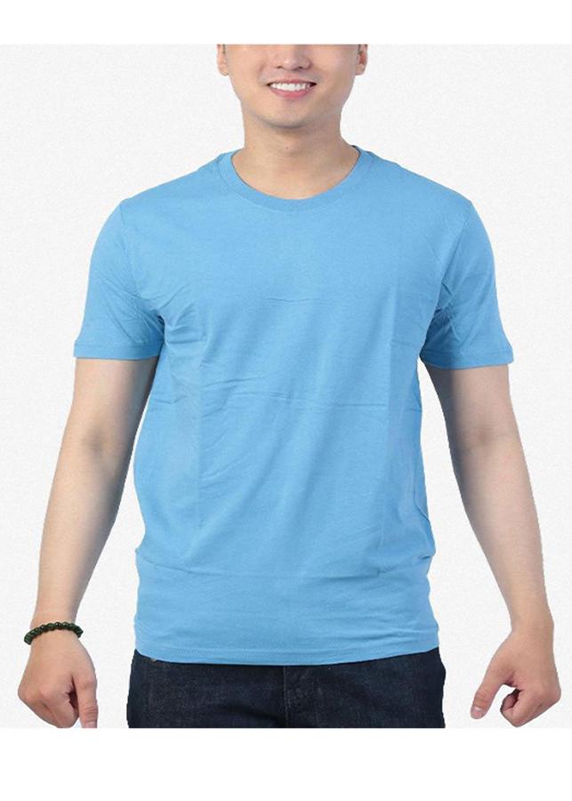 Áo thun nam 100% cotton, cao cấp, (Màu xanh dương nhạt 2), D09 - 5144648328609,62_7011465,110000,tiki.vn,Ao-thun-nam-100Phan-Tram-cotton-cao-cap-Mau-xanh-duong-nhat-2-D09-62_7011465,Áo thun nam 100% cotton, cao cấp, (Màu xanh dương nhạt 2), D09