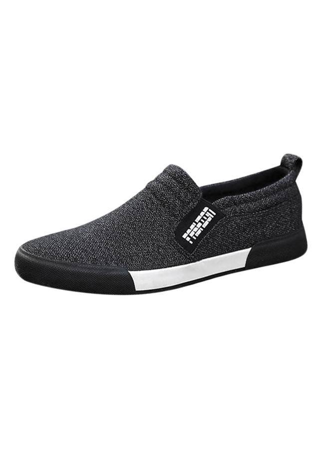 Giày Lười Vải Nam Thời Trang Và Lịch Lãm Fashion - Hapu