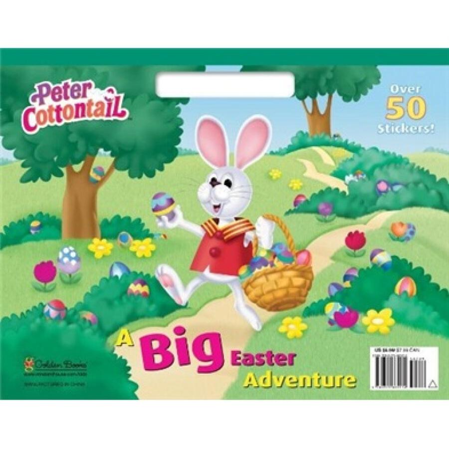 A Big Easter Adventure (Big Coloring Book)