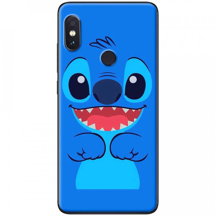 Ốp lưng dành cho Xiaomi Redmi Note 6 mẫu Stitch xanh