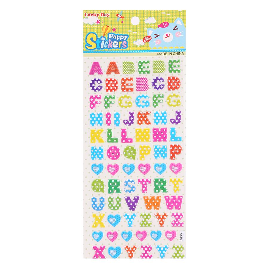 Sticker Dán Nổi Cho Bé - CC037