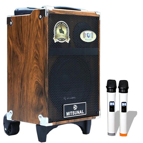 Loa kéo karaoke Mitsunal M8 Vân Gỗ - Có nút chỉnh Bass Mic, Tress Mic - 1452176 , 8047776593369 , 62_11469095 , 3500000 , Loa-keo-karaoke-Mitsunal-M8-Van-Go-Co-nut-chinh-Bass-Mic-Tress-Mic-62_11469095 , tiki.vn , Loa kéo karaoke Mitsunal M8 Vân Gỗ - Có nút chỉnh Bass Mic, Tress Mic