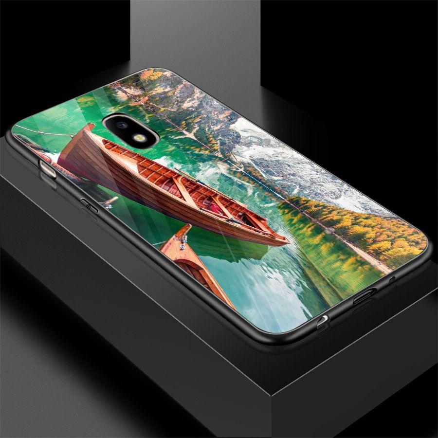 Ốp điện thoại kính cường lực cho máy Samsung Galaxy J2 - Quê Hương MS QHUONG012 - Hàng Chính Hãng