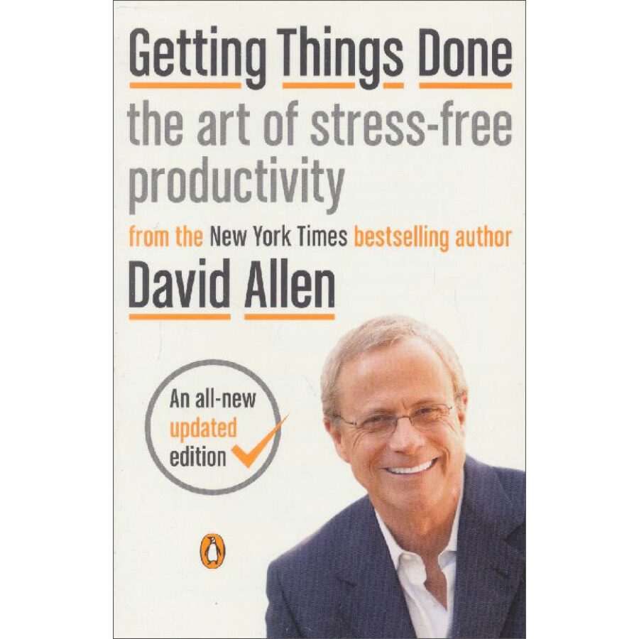 Getting Things Done: The Art of Stress-Free Productivity - 1227261 , 8201688391905 , 62_5240209 , 2011000 , Getting-Things-Done-The-Art-of-Stress-Free-Productivity-62_5240209 , tiki.vn , Getting Things Done: The Art of Stress-Free Productivity