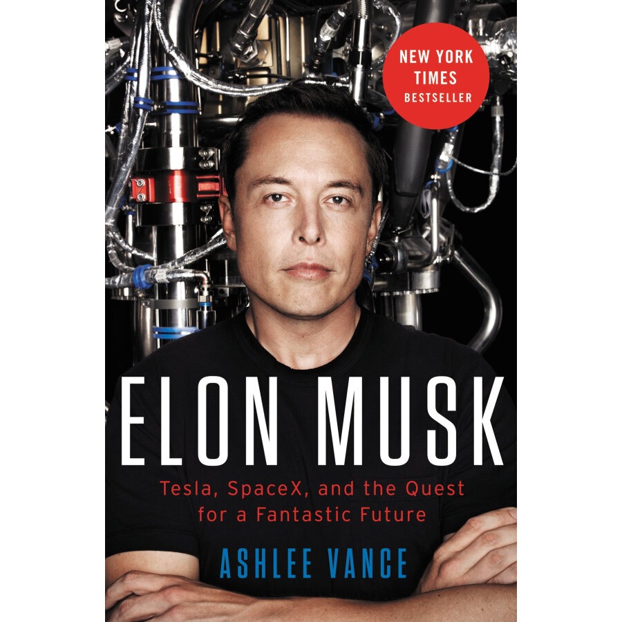Elon Musk: Tesla SpaceX and the Quest for a Fantastic Future - 1243016 , 1036588080249 , 62_5290005 , 403000 , Elon-Musk-Tesla-SpaceX-and-the-Quest-for-a-Fantastic-Future-62_5290005 , tiki.vn , Elon Musk: Tesla SpaceX and the Quest for a Fantastic Future