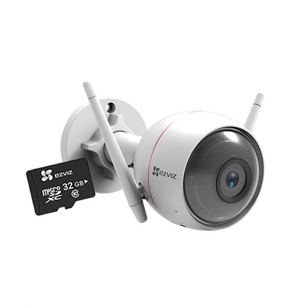 Camera IP Wifi ngoài trời EZVIZ C3W 1080P (CS-CV310) + Tặng thẻ nhớ EZVIZ 32GB