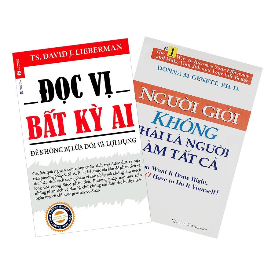 Combo Đọc Vị Bất Kỳ Ai + Người Giỏi Không Phải Là Người Làm Tất Cả (2 cuốn)
