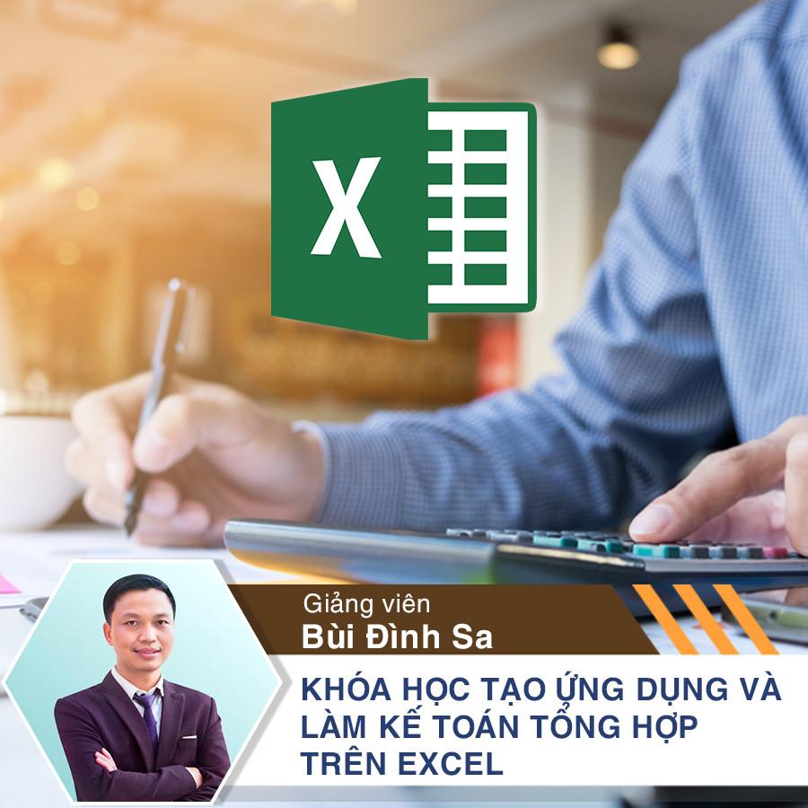 Khóa học Tạo ứng dụng và làm kế toán tổng hợp trên Excel - 5774043 , 3037747621547 , 62_6398125 , 1000000 , Khoa-hoc-Tao-ung-dung-va-lam-ke-toan-tong-hop-tren-Excel-62_6398125 , tiki.vn , Khóa học Tạo ứng dụng và làm kế toán tổng hợp trên Excel