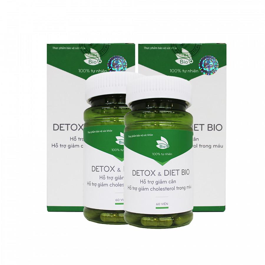 Combo 2  Hộp Thực Phẩm Chức Năng Viên Uống Giảm Cân Detox Diet Bio - Giảm Cân Thanh Lọc Cơ Thể (Hộp 60 viên) - 1599306 , 4219383490445 , 62_10729196 , 1700000 , Combo-2-Hop-Thuc-Pham-Chuc-Nang-Vien-Uong-Giam-Can-Detox-Diet-Bio-Giam-Can-Thanh-Loc-Co-The-Hop-60-vien-62_10729196 , tiki.vn , Combo 2  Hộp Thực Phẩm Chức Năng Viên Uống Giảm Cân Detox Diet Bio - Giảm Cân
