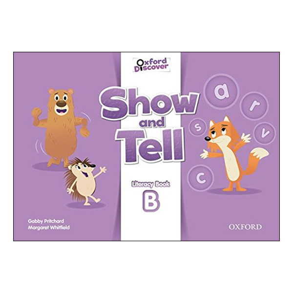 Show and Tell 3: Literacy Book