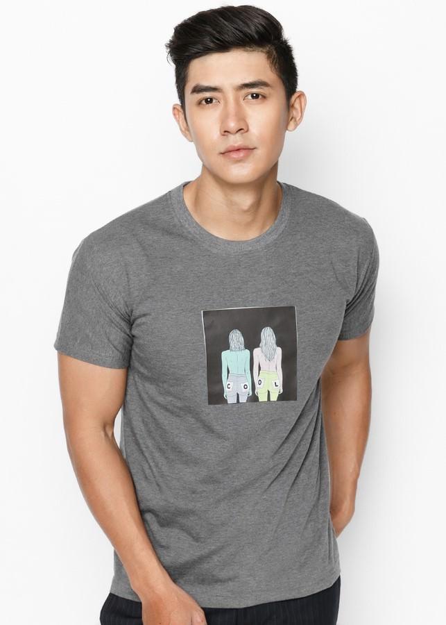 Áo Thun Nam Cool Kids SuviTM0027 - Xám