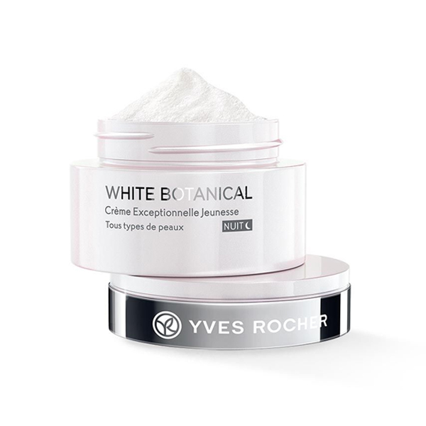 Kem Dưỡng Sáng Da Ban Đêm Exceptional Youth Cream Night Yves Rocher (50 ml)