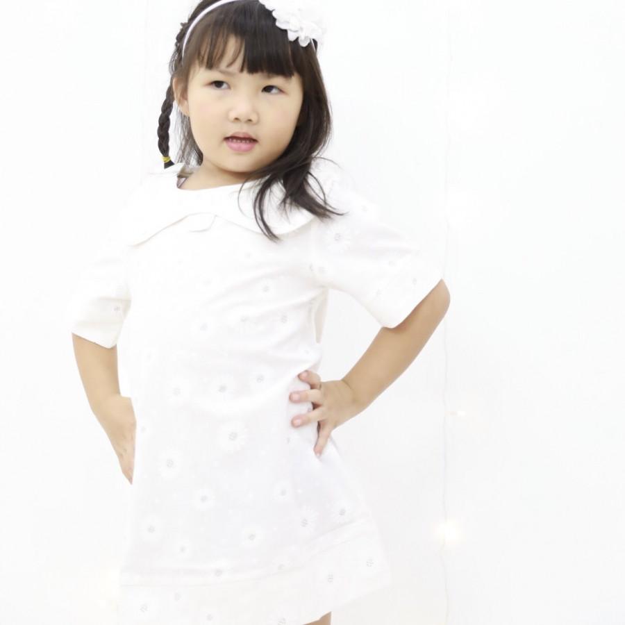 Đầm Cổ Sen Lớn Bé Gái - Mamacares