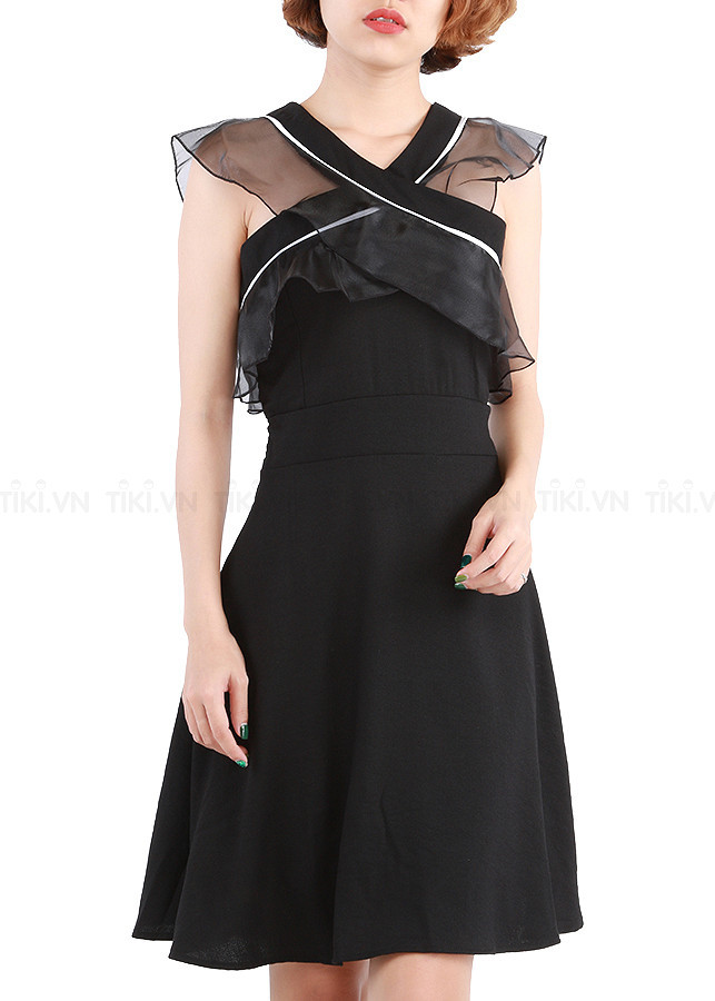 Đầm xòe dự tiệc hot girl BY