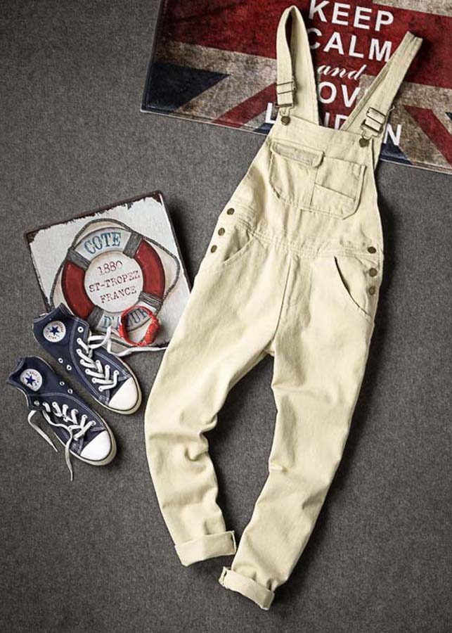 Quần jeans yếm nam trendy Mã: ND1300