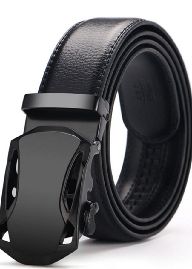 Thắt lưng da nam cao cấp MP002 ( ĐEN )