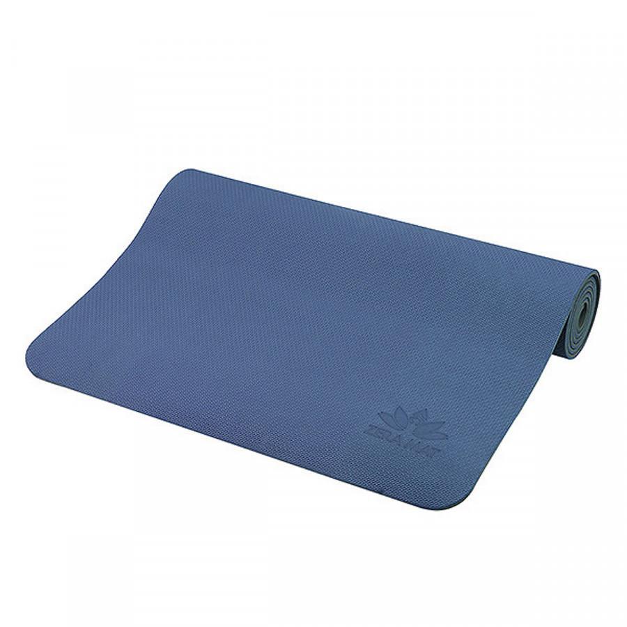 Thảm Tập Yoga TPE ZERA 8mm 1 Lớp Màu XanhCoban Tặng Kèm túi