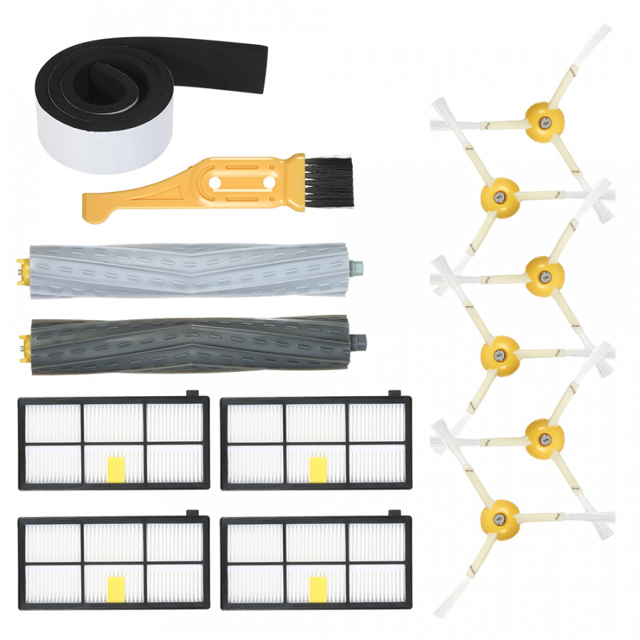 Pack of 14 Replacement Accessories Kit for iRobot Roomba 800  900 Series 805 860 861 864 866 870 880 890 891 894 960 - 7590655 , 8137593711692 , 62_16927747 , 495000 , Pack-of-14-Replacement-Accessories-Kit-for-iRobot-Roomba-800-900-Series-805-860-861-864-866-870-880-890-891-894-960-62_16927747 , tiki.vn , Pack of 14 Replacement Accessories Kit for iRobot Roomba 800