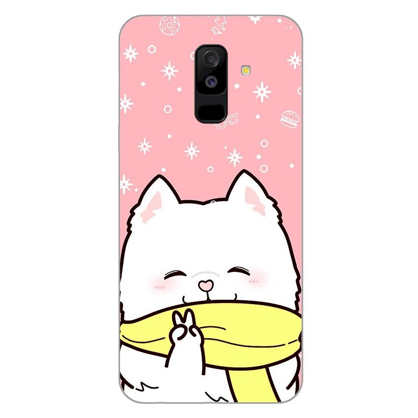 Ốp lưng dẻo cho Samsung Galaxy A6 Plus 2018_Cute Dog 06 - 1178334 , 6083112763265 , 62_4793425 , 200000 , Op-lung-deo-cho-Samsung-Galaxy-A6-Plus-2018_Cute-Dog-06-62_4793425 , tiki.vn , Ốp lưng dẻo cho Samsung Galaxy A6 Plus 2018_Cute Dog 06