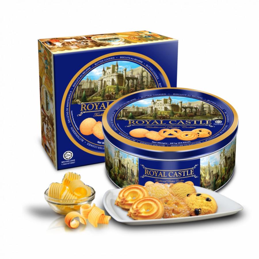 Bánh quy bơ Royal Castle (681g) - Hộp thiếc màu xanh - 6210603 , 6991847648705 , 62_9816521 , 150000 , Banh-quy-bo-Royal-Castle-681g-Hop-thiec-mau-xanh-62_9816521 , tiki.vn , Bánh quy bơ Royal Castle (681g) - Hộp thiếc màu xanh