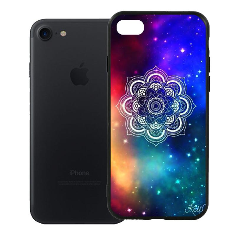 Ốp Lưng Viền TPU Cao Cấp Dành Cho iPhone 7 - Hoa Gió 09