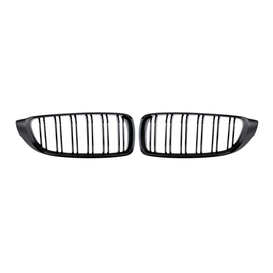 Gloss Black Front Kidney Grille Double Slat M4 Sport Style Grill for BMW F32 F33 F36 F82 Cabriolet Coupe - 2019421 , 7820304023719 , 62_15218267 , 1298000 , Gloss-Black-Front-Kidney-Grille-Double-Slat-M4-Sport-Style-Grill-for-BMW-F32-F33-F36-F82-Cabriolet-Coupe-62_15218267 , tiki.vn , Gloss Black Front Kidney Grille Double Slat M4 Sport Style Grill for BM