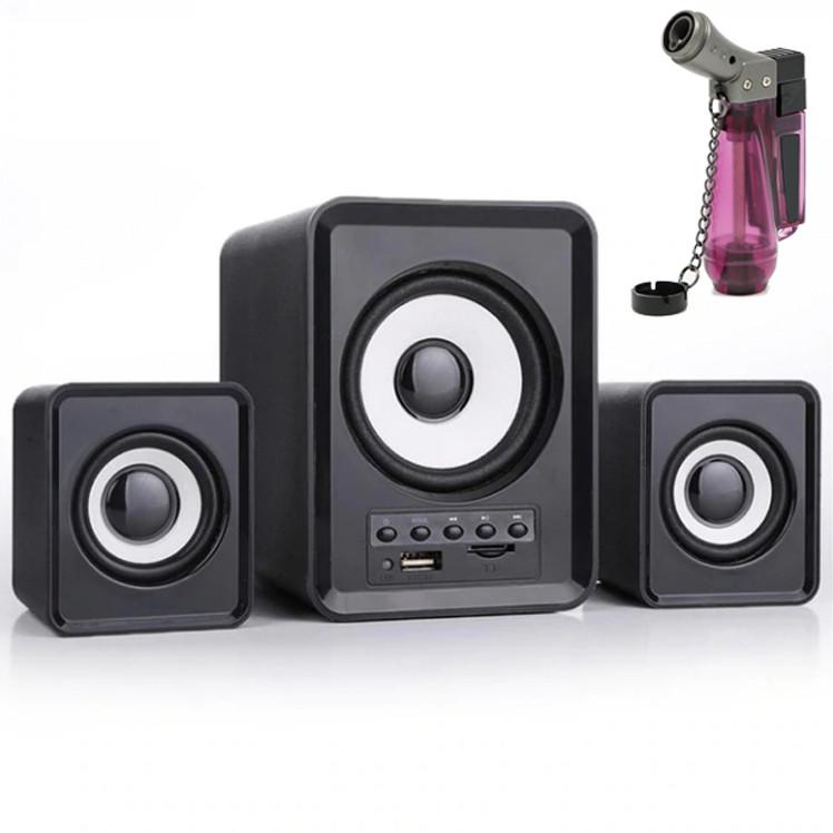 Combo Bộ 3 Loa Máy Tính D-230 Hỗ Trợ Bluetooth, USB, thẻ nhớ, jack 3.5 + Tặng Bật Lửa Khò Ga Đá Kiêm Móc Khóa (Màu... - 764642 , 9879776250053 , 62_9430646 , 700000 , Combo-Bo-3-Loa-May-Tinh-D-230-Ho-Tro-Bluetooth-USB-the-nho-jack-3.5-Tang-Bat-Lua-Kho-Ga-Da-Kiem-Moc-Khoa-Mau...-62_9430646 , tiki.vn , Combo Bộ 3 Loa Máy Tính D-230 Hỗ Trợ Bluetooth, USB, thẻ nhớ, jack 3