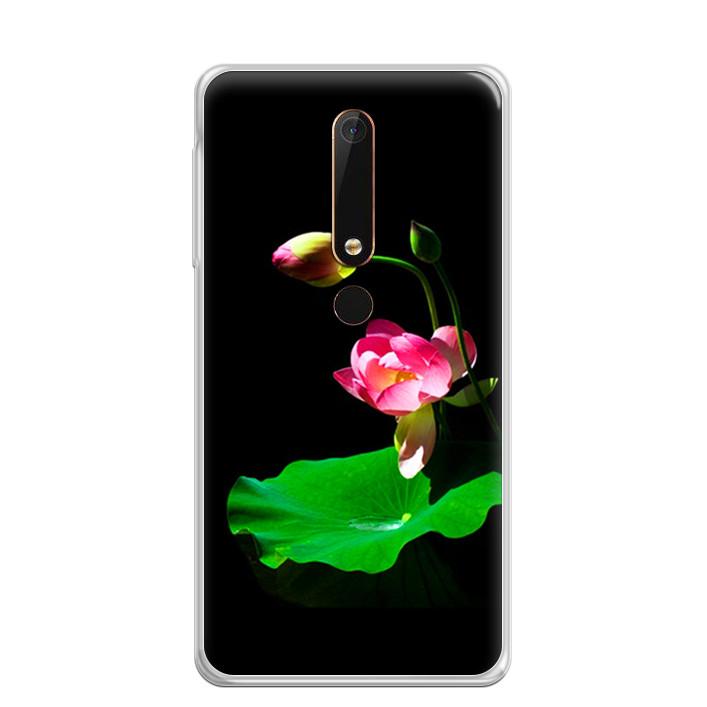 Ốp Lưng Dẻo Cho Điện Thoại Nokia 6 2018 - 0221 LOTUS01
