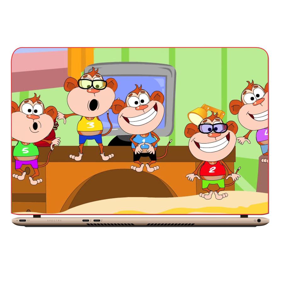 Miếng Dán Decal Trang Trí Laptop Animal Cartoon DCLTDV 153