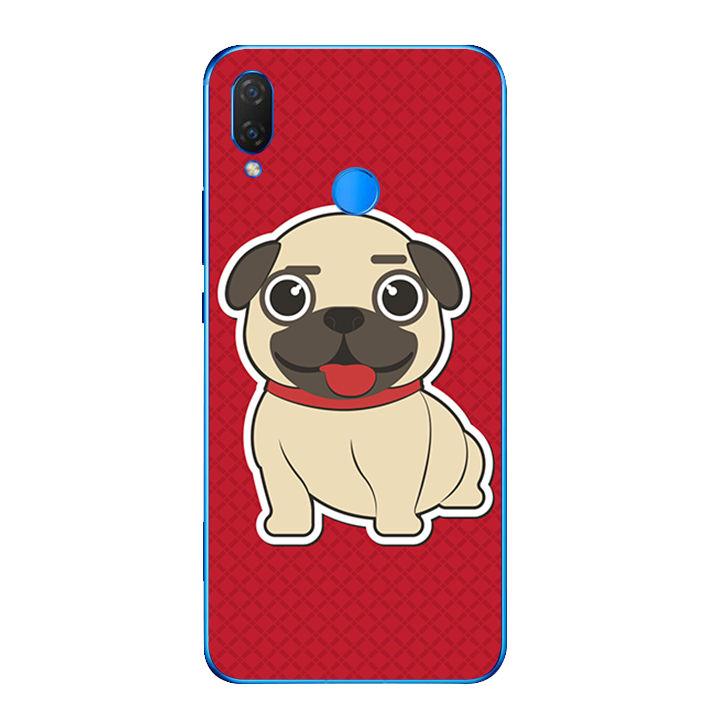 Ốp lưng dẻo cho điện thoại Huawei Y9 2019 - Cute Dog 01