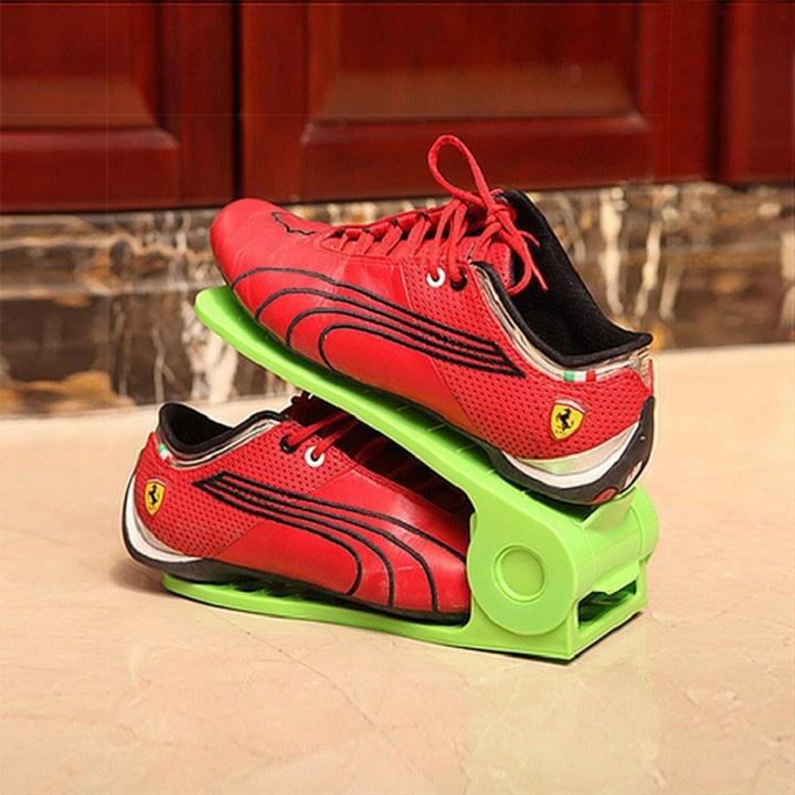 Bộ 3 kệ để giày dép thông minh điều chỉnh được độ cao thấp - 2107114 , 6215353421653 , 62_13328535 , 125000 , Bo-3-ke-de-giay-dep-thong-minh-dieu-chinh-duoc-do-cao-thap-62_13328535 , tiki.vn , Bộ 3 kệ để giày dép thông minh điều chỉnh được độ cao thấp